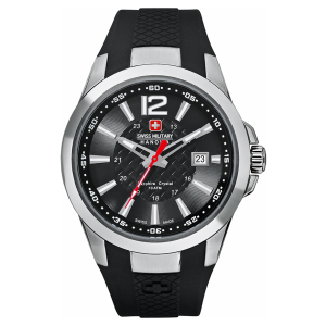 Swiss Military Hanowa Men's Predator 06-4165-04-007 Carbon-Fiber Rubber Swiss Quartz Watch