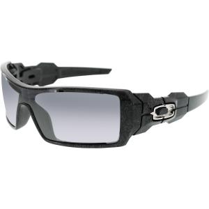 oakley men 39 s new oil rig 24 058 black wrap sunglasses. Black Bedroom Furniture Sets. Home Design Ideas
