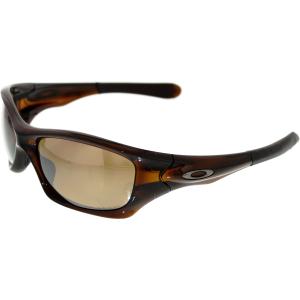 oakley men 39 s polarized pit bull oo9127 08 brown wrap sunglasses. Black Bedroom Furniture Sets. Home Design Ideas
