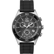 Timex Unisex Sport T2N826 Black Silicone Quartz Watch
