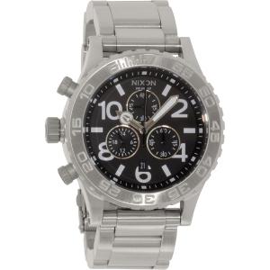 Nixon Men's 42-20 A037000 Silver Stainless-Steel Quartz Watch