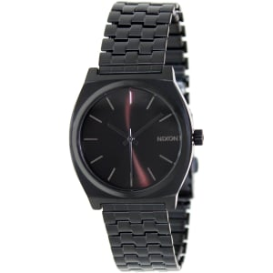 Nixon Men's Time Teller A045001 Black Stainless-Steel Quartz Watch