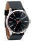 Nixon Men's Sentry A105000 Black Leather Analog Quartz Watch - Main Image Swatch