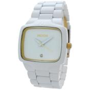 Nixon Men's Player A1401035 White Stainless-Steel Quartz Watch