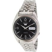 Seiko Men's 5 Automatic SNK135K Black Stainless-Steel Quartz Watch