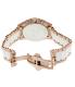 Swiss Precimax Women's Desire Elite Ceramic Diamond SP12078 Rose Gold Ceramic Swiss Quartz Watch - Back Image Swatch