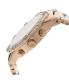 Swiss Precimax Women's Desire Elite Ceramic Diamond SP12078 Rose Gold Ceramic Swiss Quartz Watch - Side Image Swatch