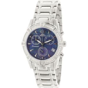 Swiss Precimax Women's Desire Elite Diamond SP12079 Silver Stainless-Steel Swiss Quartz Watch