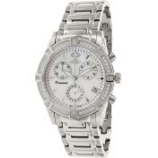 Swiss Precimax Women's Desire Elite Diamond SP12080 Mother-Of-Pearl Ceramic Swiss Quartz Watch