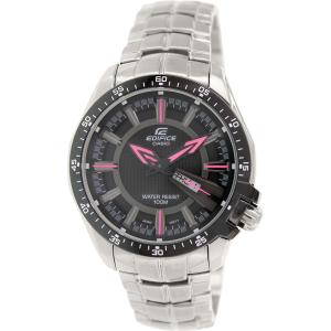 Casio Men's Edifice EF130D-1A4V Silver Stainless-Steel Quartz Watch