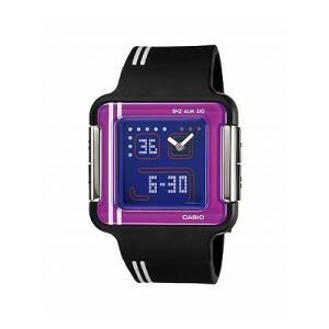 Casio Women's Core LCF21-1 Black Resin Quartz Watch