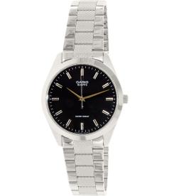 Casio Men's Core MTP1274D-1A Black Stainless-Steel Quartz Watch