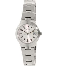 Casio Women's LTP1241D-7A2 White Stainless-Steel Quartz Watch