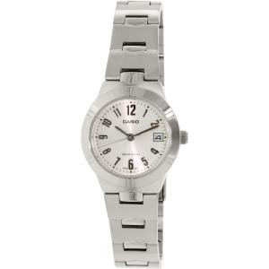Casio Women's LTP1241D-7A2 Silver Stainless-Steel Quartz Watch