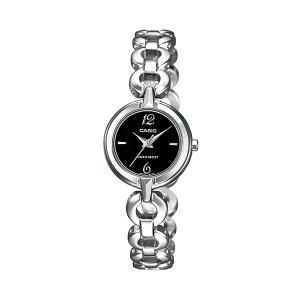 Casio Women's Core LTP1349D-1C Silver Stainless-Steel Quartz Watch