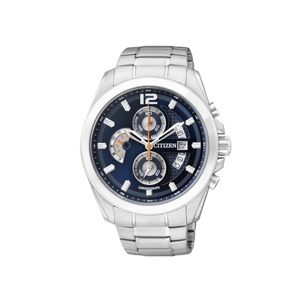 Citizen Men's Chronograph AN3420-51L Blue Stainless-Steel Quartz Watch