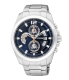 Citizen Men's Chronograph AN3420-51L Blue Stainless-Steel Quartz Watch - Main Image Swatch