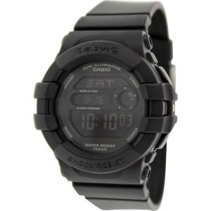 Casio Women's Baby-G BGD140-1A Black Resin Quartz Watch