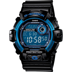 Casio Men's G-Shock G8900A-1 Blue Resin Quartz Watch