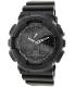 Casio Men's G-Shock GA100-1A1 Black Resin Quartz Watch - Main Image Swatch