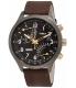 Timex Men's IQ T2N931 Brown Calf Skin Quartz Watch - Main Image Swatch