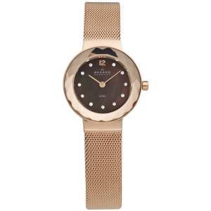 Skagen Women's 456SRR1 Rose Gold Stainless-Steel Quartz Watch