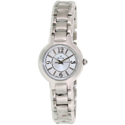 Bulova Women's Classic 96L147 White Stainless-Steel Quartz Watch