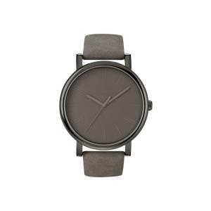 Timex Men's Easy Reader T2N795 Brown Leather Quartz Watch