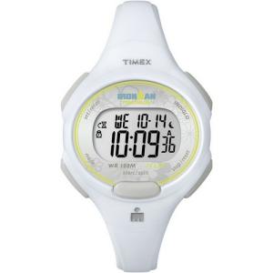Timex Women's Ironman T5K606 White Plastic Quartz Watch
