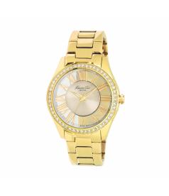 Kenneth Cole Women's Transparent KC4853 Gold Stainless-Steel Quartz Watch