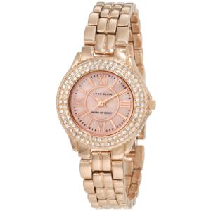 Anne Klein Women's 10-9536RMRG Rose-Gold Stainless-Steel Quartz Watch