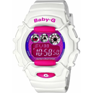 Casio Women's Baby-G BG1006SA-7A Digital Resin Quartz Watch