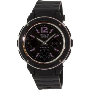 Casio Women's Baby-G BGA150-1B Black Resin Quartz Watch
