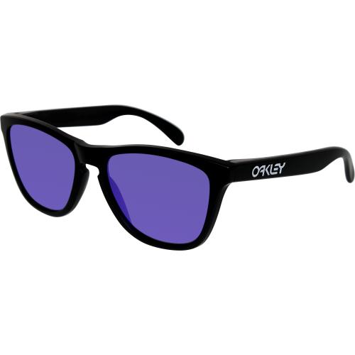 ee16ee4b8 UPC 700285551371 product image for Oakley Men's Frogskins 24-298 Black  Square Sunglasses | upcitemdb ...