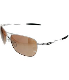 Oakley Men's Crosshair OO4060-02 Silver Square Sunglasses