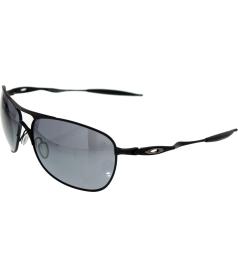 Oakley Men's Crosshair OO4060-03 Black Square Sunglasses