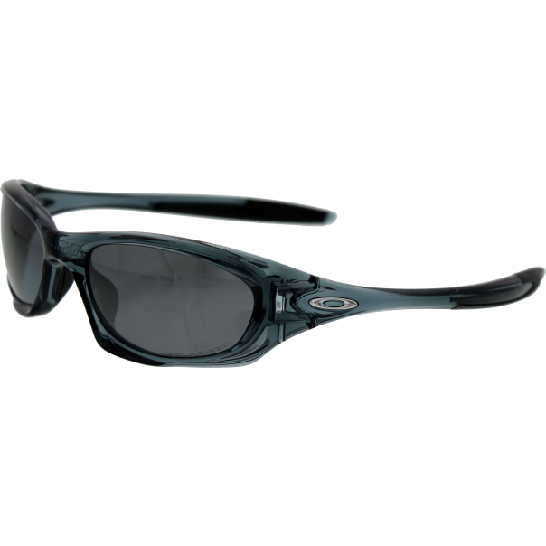 Oakley Men's Polarized Twenty OO9157-06 Grey Oval Sunglasses