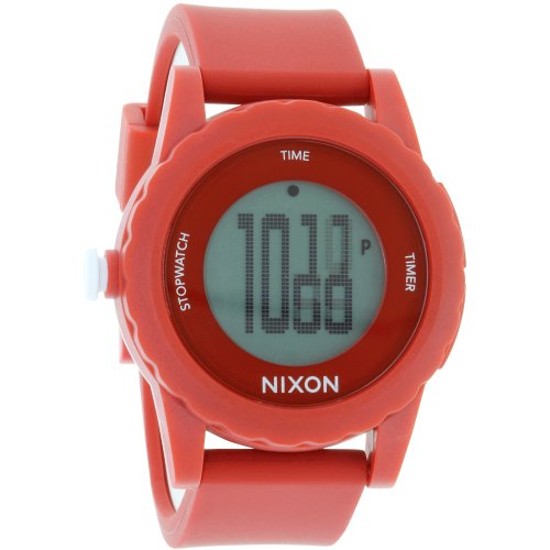 Nixon Men's Genie A326200 Digital Plastic Analog Quartz Watch