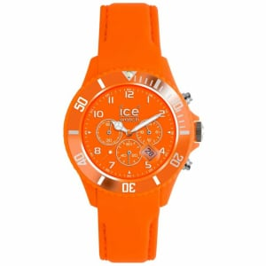 Ice-Watch Men's Chrono CH.FO.B.L.11 Orange Calf Skin Quartz Watch