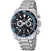 Festina Men's Crono F16564/5 Black Stainless-Steel Quartz Watch