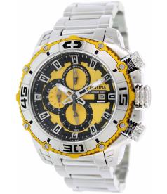 Festina Men's Tour de France F16599/5 Yellow Stainless-Steel Quartz Watch