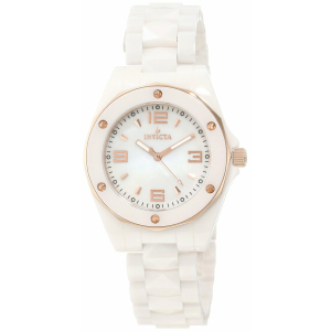 Invicta Women's Ceramics 10259 White Ceramic Swiss Quartz Watch