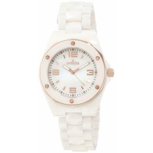 Invicta Women's Ceramics 10259 White Ceramic Swiss Quartz Watch