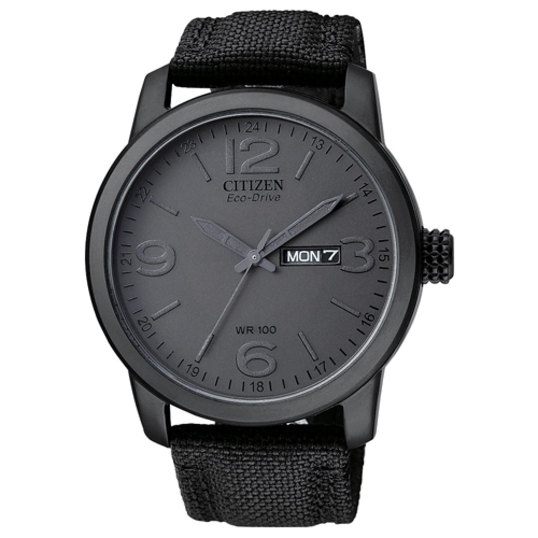 Citizen_Men's_Eco-Drive_BM8475-00F_Grey_Nylon_Fashion_Watch