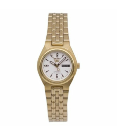 Seiko Women's 5 Automatic SYMA22K White Stainless-Steel Automatic Watch