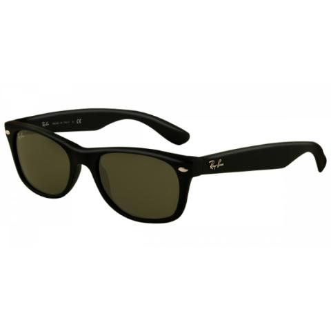 Ray-Ban Men's Anti-reflective New Wayfarer RB2132-622-52 Black Oval Sunglasses