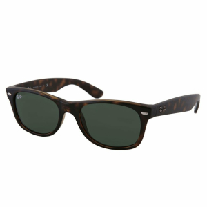 Ray-Ban Men's New Wayfarer RB2132-902-52 Tortoiseshell Wayfarer Sunglasses