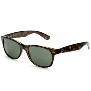 Ray-Ban Men's New Wayfarer RB2132-902L-55 Tortoiseshell Wayfarer Sunglasses