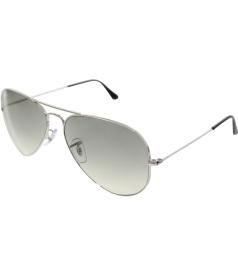 Ray-Ban Men's Aviator RB3025-003/32-58 Silver Aviator Sunglasses