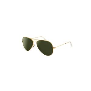 Ray-Ban Men's Aviator RB3025-L0205-58 Gold Aviator Sunglasses